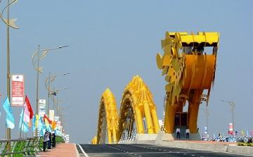 Công trình Cầu Rồng TP Đà Nẵng.